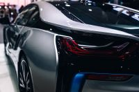 Kaboompics - The rear lights of the car BMW i8