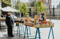 Kaboompics - Street book fair