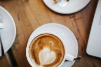 Kaboompics - Coffee with Heart Shape