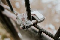 Kaboompics - Close-up of a padlock