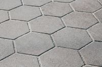Kaboompics - Hexagon floor tiles