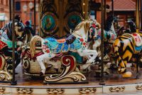 Kaboompics - Wonderful Carousel situated in Manufaktura, Łódz, Poland
