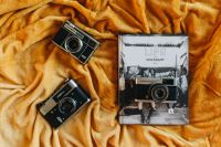 Kaboompics - Life on Instagram Book and Vintage Cameras