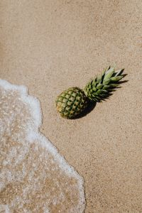 Kaboompics - Pineapple on the beach