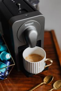 Kaboompics - Nespresso Krups Prodigio & Milk Coffee Machine