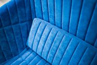 Kaboompics - Soft blue sofa