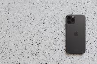 Kaboompics - Apple iPhone 11 Pro on terrazzo