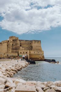 Dell'Ovo Castle in Naples