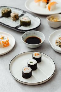 Kaboompics - Different Types Of Sushi - Japanese Food Style