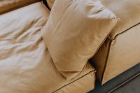 Kaboompics - Come up of Modern & Contemporary Tan Leather Sofa