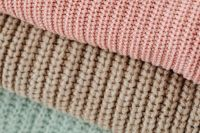 Pastel sweaters - textures and backgrounds