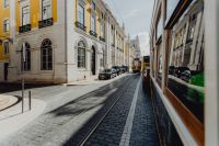 Kaboompics - Famous vintage yellow 28 tram on street of Lisbon, Portugal