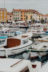 Kaboompics - Port and marina with boats in the old town of Rovinj, Croatia