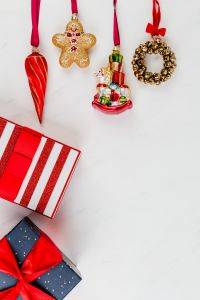 Kaboompics - Christmas background with gifts & decorations