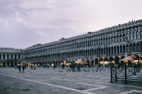 The St. Mark's Square (Piazza San Marco) in Venice, Italy
