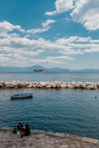 Kaboompics - Naples, Italy. Tyrrhenian Sea And Landscape With Volcano Mount Vesuvius (Vesuvio)