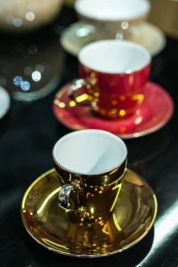 Kaboompics - Collection of fancy tea cups