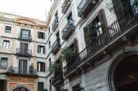 Kaboompics - Townhouses in Barcelona, Spain