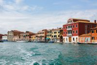 The beautiful and colorful Murano Island, Italy