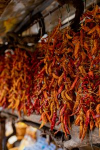 Kaboompics - Dried chilli peppers