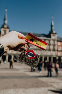 Kaboompics - Souvenir magnet from Madrid, Spain