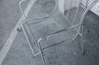 Kaboompics - Retro Metal Dining Chair
