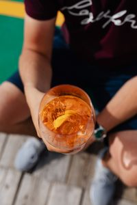 Kaboompics - Aperol Spritz cocktail drink