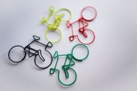 Kaboompics - Bicycle paper clips