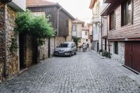 Kaboompics - Narrow streets with old houses in the old town Nessebar, Bulgaria