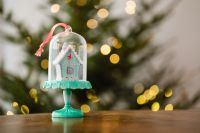 Kaboompics - Christmas decorations - gifts - lights - tree -