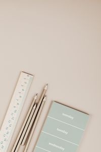 Kaboompics - Stationary school & office supplies