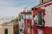 Kaboompics - Panorama of the city Naples. Old houses at sunset