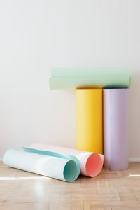 Kaboompics - Colored paper rolls