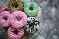 Kaboompics - Colorful donuts