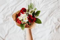Kaboompics - Bouquet of Flowers with Copy Space - Background