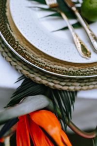 Kaboompics - Elegant Exotic Table Decor