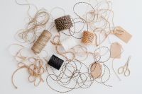 Kaboompics - Natural Jute Twine - Gift Wrapping - Background