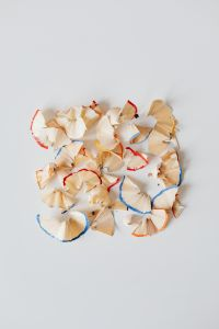 Kaboompics - Coloured Pencil Shavings