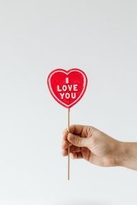 Kaboompics - I love you lollipop
