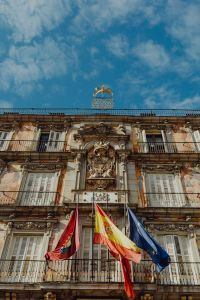 Kaboompics - Plaza Mayor with statue of King Philips III in Madrid, Spain