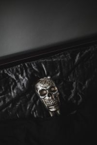Kaboompics - Halloween Skulls Decorations