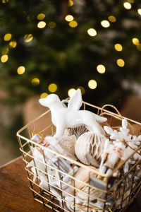 Christmas decorations - gifts - lights - tree