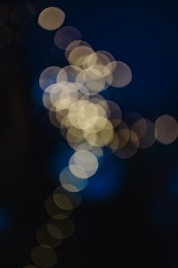 Kaboompics - White abstract bokeh lights