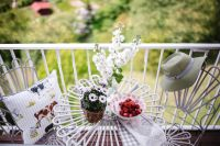 Kaboompics - Country-style Balcony Decorations