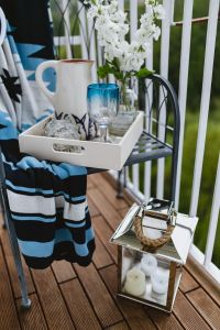 Kaboompics - Seaside Style: Nautical Balcony Decor