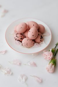 Pink Chocolate Eggs - Easter