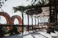 Kaboompics - Restaurants in old town of Nessebar, Bulgaria