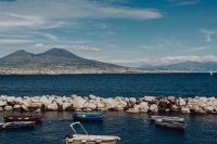 Kaboompics - Naples, Italy. Tyrrhenian Sea And Landscape With Volcano Mount Vesuvius