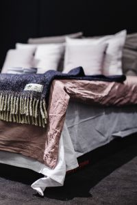 Kaboompics - Beds with pillows on a designer exhibition