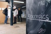 Kaboompics - Chalkboard with handwritten words
